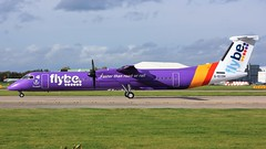 G-ECOH (AnDyMHoLdEn) Tags: flybe dash8 bombardier egcc airport manchester manchesterairport 23l