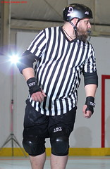 IMG_8220 crop 1 (KORfan) Tags: rollerderby barbedwirebetties cabinfeverscrimmage referees officials