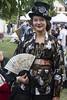 Oriental steamer (leroux.maximilien62) Tags: merville mervillefranceville calvados normandie normandy france frankreich fantasy cidre dragons steampunk chapeau hat hut éventail kimono