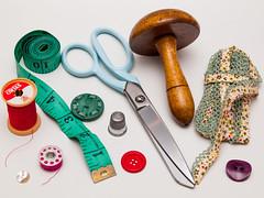 365.32 - Sewing bits and bobs (AmyGStubbs) Tags: 01feb18 2018 365the2018edition 3652018 day32365 e30 fl50 flash olympus olympus1260f284edswd sewing stilllife