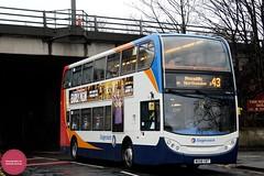 Stagecoach Manchester MX58VBT (Mike McNiven) Tags: manchester piccadilly gardens northenden rivermersey stagecoach airport wythenshawe alexanderdennis enviro400