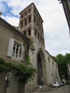 Église Saint-Barthélémy and neighboring house, Cahors, France