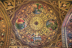 Vank Cathedral, Isfahan, Iran (Feng Wei Photography) Tags: armenian traveldestinations isfahan spirituality landmark religion indoors famousplace builtstructure iran iranianculture travel horizontal middleeast lowangleview cathedral church persian colorimage intricacy goldcolored ceiling christian christianity vankcathedral persianculture decoration architecture fresco art tourism ornate armenianculture irn