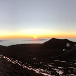 Moment of Sunset atop Mauna Kea thumbnail