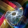 Spiro (ibriphotos) Tags: lightpainting rainbow physiogram lighttrail