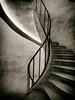 Spiral (Feldore) Tags: paris pantheon steps spiral worn vintage old stairs staircase stone atget french france feldore mchugh em1 olympus 1240mm