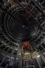 The shaft (magnur) Tags: 2018 kyiv ukraine ukraina kiev underground shaft tunnel light paint exploration subterrain