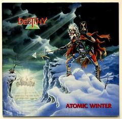A0504 DESTINY Atomic Winter (vinylmeister) Tags: vinylrecords albumcoverphotos heavymetal thrashmetal deathmetal blackmetal vinyl schallplatte disque gramophone album