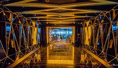 2017 - Regent Explorer - Observation Lounge (Ted's photos - For Me & You) Tags: 2017 cropped nikon nikond750 nikonfx regentcruise tedmcgrath tedsphotos vignetting sevenseasexplorer cruiseship passageway hallway reflection explorerobservationlounge reflecting