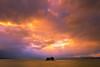 sunset 5384 (junjiaoyama) Tags: japan sunset sky light cloud weather landscape purple orange yellow blue contrast color bright lake island water nature winter