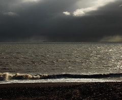 English Channel from Dungeness (Explored 22.02.2018) (richwat2011) Tags: kent seaside sea seascape coast coastline beach shingle cuspateforeland dungeness englishchannel thechannel channel nikon d200 18200mmvr southcoast uk unitedkingdom shore shoreline lamanche clouds cloudy rain darkclouds explored explore explore22022018 1000views 2000views 10faves 25faves 50faves 3000views 4000views 100faves 5000views 75faves 6000views