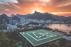 Fire over Jesus (Felix Vila) Tags: rio riodejaneiro brazil brasil city ciudad sunset atardecer