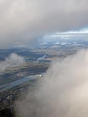 grey electricity (Riex) Tags: nuage cloud fog brouillard kernkraftwerk leibstadt nuclear plant centralenucleaire energie nukes energy suisse switzerland schweiz fromtheair aerialphotography photographieaerienne birdseyeview vuedavion rhine river fleuve riviere rhein rhin paysage landscape g9x