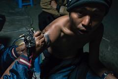 Street tattoo (davidsymonds) Tags: mohnyinမိုးညှင်း kachin myanmarburma mm