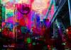 Commute (brillianthues) Tags: urban bridge philadelphia ben franklin city colorful collage photography photmanuplation photoshop