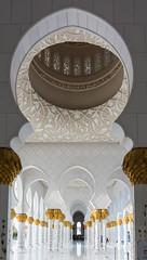 20180223-DSC_6871 (danieleeffe1) Tags: abudhabi mosque sheikh zayed szm uae arabian arabic details muslim world white gold sun calligraphy arches marble perspective nikon nikkor d7100