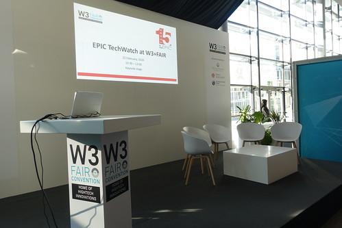 EPIC Tech Watch at W3+FAIR (1)