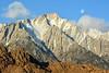 Lone Pine Peak (NaturalLight) Tags: lonepinepeak alabamahills moon california sierranevada mountains