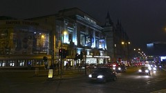 Empire Theatre Liverpool (TERRY KEARNEY) Tags: buildingsarchitecture building buildingstructure cityscape city nighttime night road people traffic automobiles buses theatre empiretheatre architecture buildings canoneos1dmarkiv explore europe england flickr kearney skyline liverpool limestreet merseyside oneterry outdoor terrykearney urban 2018 liverpool2018 car intersection sign