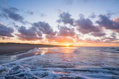 Belgian Sunset (Fab Boone Photo) Tags: sunset soleil mer sea belgium belgian belgique colors sky nature fabienboone fabboone