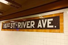 161st St - River Ave - NYC (verplanck) Tags: yankeestadium thebronx nyc sign tiles subway