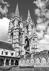 DSC_5698 Abbaye Saint Jean des Vignes (yves62160) Tags: edifices religieux abbayes picardie soissons gothique monochrome