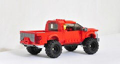 Ford F-150 Raptor (KMP MOCs) Tags: cars car truck ford raptor f150 vehicle lego moc toy toys 4x4 offroad offroader
