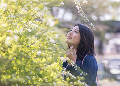 Portrait of high-teen woman looking at nature in public park (Apricot Cafe) Tags: img29960 asia asianandindianethnicities canonef85mmf18usm healthylifestyle japan japaneseethnicity kyotocity kyotoprefecture bright casualclothing charming cheerful citylife copyspace day enjoyment expectation freedom greencolor happiness hopeconcept kyotogyoen lifestyles lookingup nature oneperson onlywomen outdoors photography portrait publicpark relaxation sideview smiling springtime sunlight sustainablelifestyle waistup walking weekendactivities women youngadult kyōtoshi kyōtofu jp