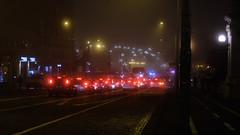 Bologna:Metropolis by Night (Emanuela Pepe) Tags: ponte traffico luci bologna fujix