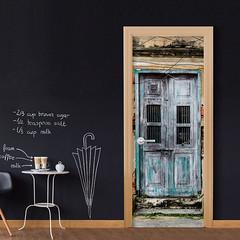 Papier-peint pour porte Old Door (emmanuel_delahaye) Tags: papier mobilier deco artgeist recollection decointerior interiordesign design home décoration papierspein