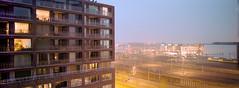 Amsterdam (dennisvanderlindenpics) Tags: v700 epson night amsterdam 45mm 400 kodak portra xpan hasselblad