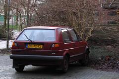 1986 Volkswagen Golf 1.6 CL (rvandermaar) Tags: 1986 volkswagen golf 16 cl vw volkswagengolf vwgolf golfii volkswagengolfii vwgolfii sidecode4 pg72xj