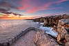 One Step Above Hell (CResende) Tags: sky hell above outlook sunset rocks coast seascape viewpoint cascais portugal visitportugal cresende d850 nikon progreyusa mouth waves water rocky sea colors 1424 nikkor