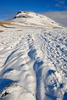 Yorkshire snowfields