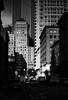 2nd (marq4porsche) Tags: cityscape sanfrancisco california usa unitedstates city urban sf vertical wall light morning day bw blanc noir black white blackandwhite grain canon f1n fd 85mm 18 ilford delta 400 1600 film analog