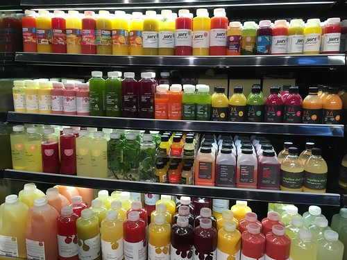 Water and juice selection