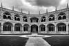 Mosteiro dos Jerónimos (H&T PhotoWalks) Tags: building architecture monastery cloister belém lisbon lisboa portugal blackwhite blackandwhite bw canoneos400d sigma18250 tan iv
