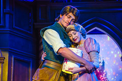 Flynn Rider & Rapunzel - Tangled show at the Royal Theatre - Disneyland (GMLSKIS) Tags: disney anaheim disneyland california rapunzel royaltheatre tangled