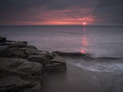 Sunset Surprise (Peter Henry Photography) Tags: parton beach sunset colour sea coast rocks shore shoreline tide nikon sigma 35mm leefilters sw150 cumbria seascape photography landscape