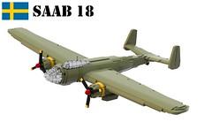 Saab 18 (Matthew McCall) Tags: lego war military sweden swedish ww2 airforce saab 18 bomber aircraft moc airplane