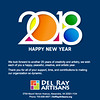 Happy New Year 2018 from Del Ray Artisans (Del Ray Artisans) Tags: delrayartisans dra 2018 members donors volunteers patrons happynewyear