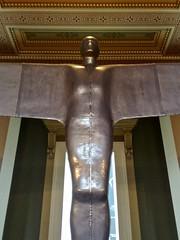 Clipped wings (David Ian Ross) Tags: britishmuseum 2008 antonygormley statuephilia
