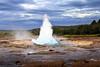 Strokkur (Boganeer) Tags: strokkur geysir geyser iceland ísland churn eruption fountain water steam canon canoneos canon6d geology