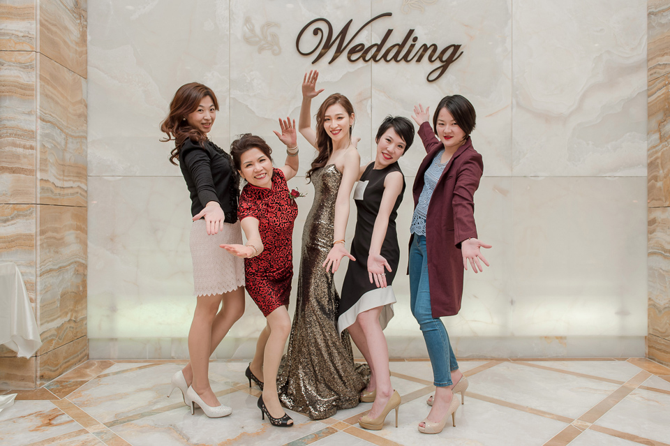 婚攝 高雄林皇宮 婚宴 時尚氣質新娘現身 S & R 169