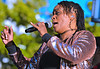 Yaya Diamond with Reverend Barry & the Funk (forestforthetress) Tags: woman singer song music band gig concert stage festival sarasotaseafoodandmusicfestival sarasota omot nikon outdoor soulmusic rb fun entertainment color