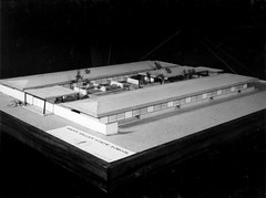 Model of new Happy Valley State School (Queensland State Archives) Tags: education building primaryschool architecture model queensland archives qld history records 3d threedimensional happyvalleystateschool