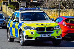 LJ66EWV (firepicx) Tags: lj66ewv northumbria police bmw x5 firearms support unit fsu armed response guns 999 emergency vehicle alnwick uk british