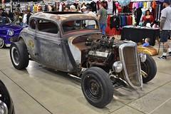 2018 Grand National Roadster Show (USautos98) Tags: 1934 ford traditionalhotrod streetrod custom grandnationalroadstershow gnrs pomona california