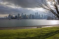 Cityscape (Clayton Perry Photoworks) Tags: vancouver bc canada winter explorebc explorecanada stanleypark seawall skyline