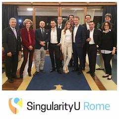 SingularityU Rome Chapter - Dinner (7)
